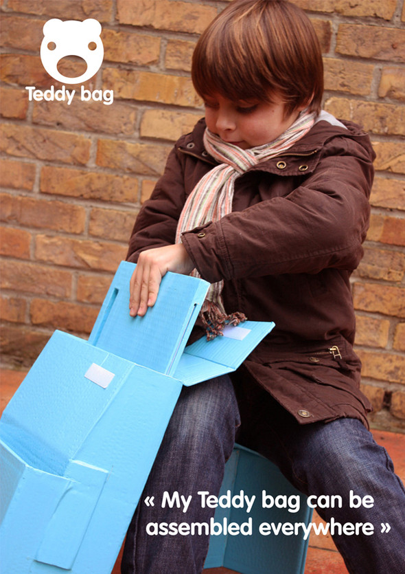 Изображение 2. Ранец-парта Teddy Bag.. Изображение № 1.