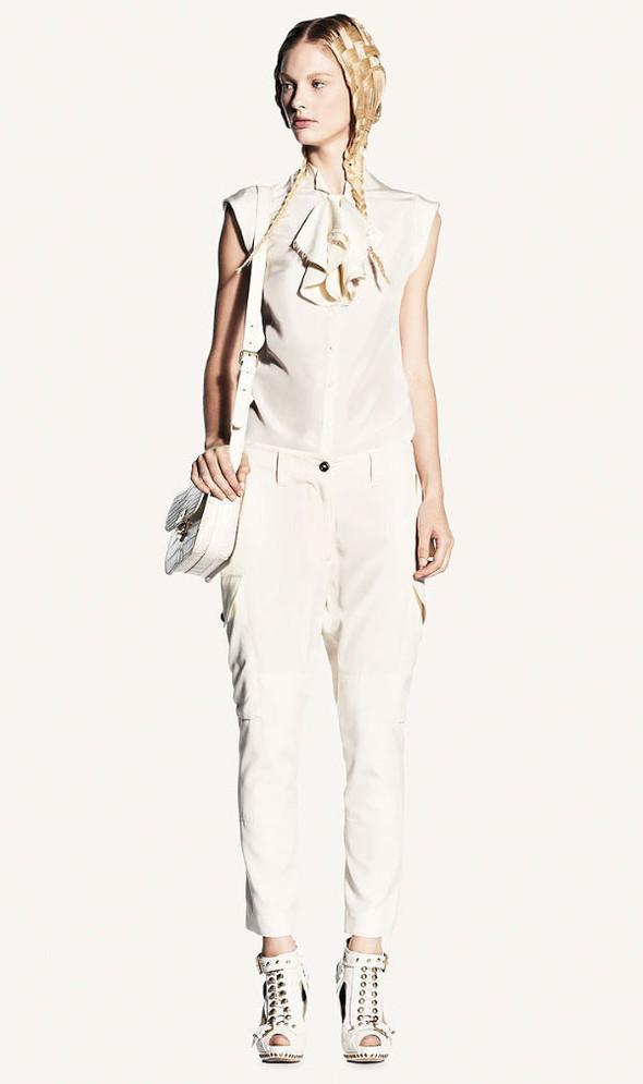 Look-book Alexander McQueen весна 2011. Изображение № 3.
