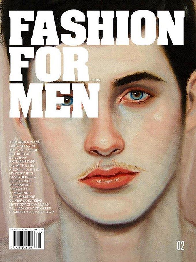 Vogue, Fashion For Men и Man About Town показали новые обложки. Изображение № 2.