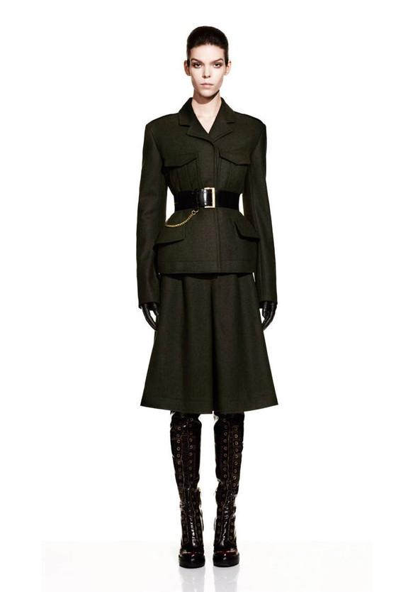 McQueen Fall 2012 Lookbook. Изображение № 2.