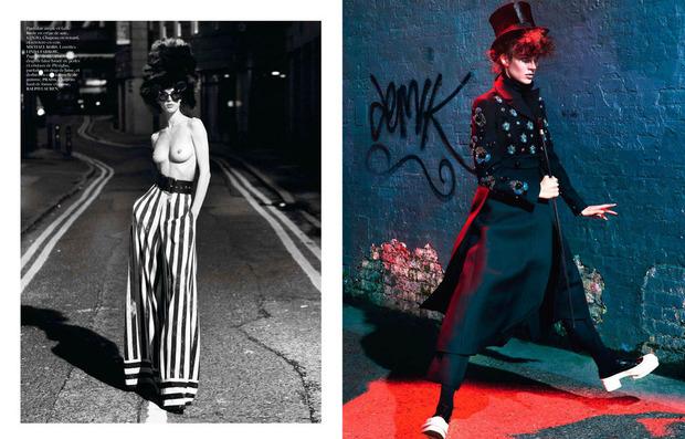 Новые съемки Dazed & Confused, Vogue, i-D и W Magazine. Изображение № 7.