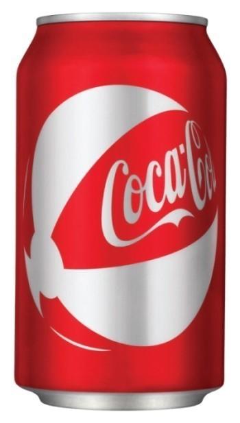 Новый дизайн банок Coca-Cola. Изображение № 1.