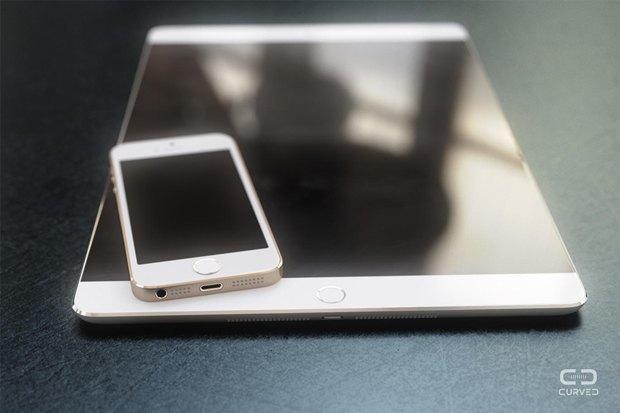Концепт 12,9-дюймового iPad Pro. Автор: Curved Labs. Изображение № 1.