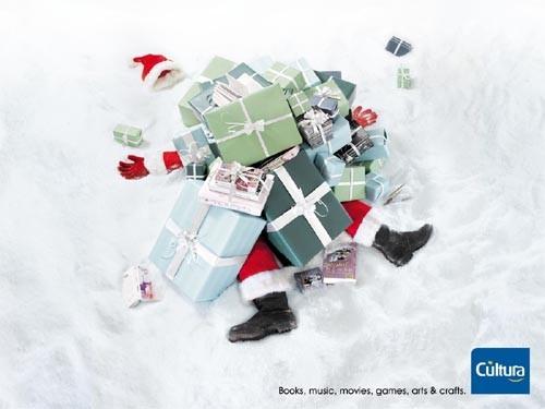Новогоднее - Рождественский креатив в рекламе. Изображение № 45.