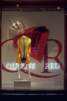 Новости ЦУМа: Новый дизайн витрин Red Crystal. Изображение № 5.