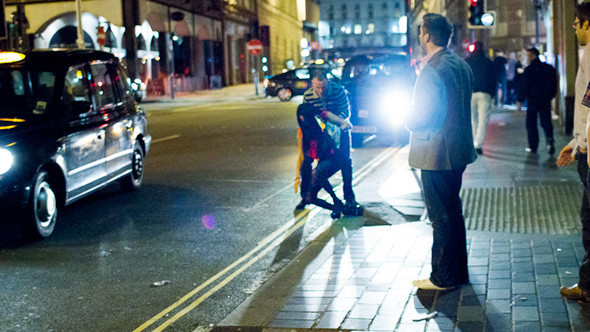 Великобритания: Дух настоящей Англии в Ливерпуле, автомобиль-амфибия и Японец за рулем. Изображение № 63.
