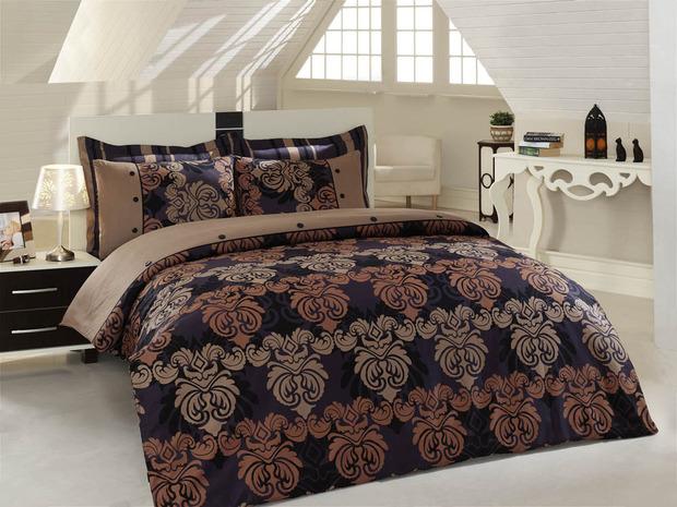 ТОП 10 темных комплектов постельного белья. Изображение № 9.