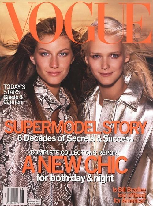 Вспомнить все или 11 обложек Жизель для Vogue US. Изображение № 6.