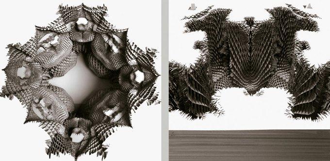 Архитекторы создали гротескные колонны на 3D-принтере. Изображение № 3.
