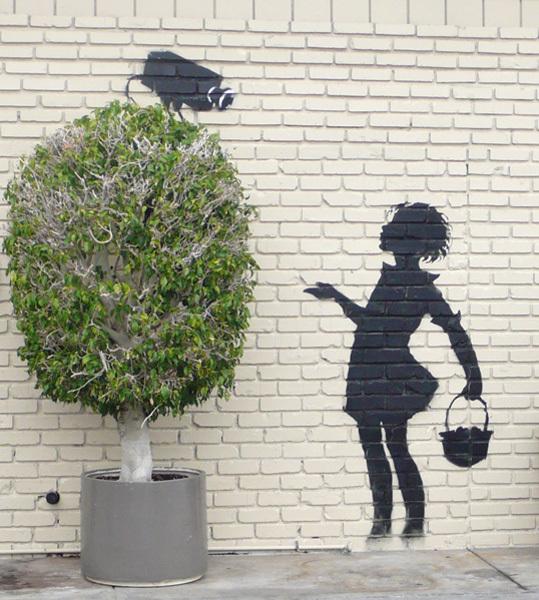 Изображение 6. Banksy (уличная мышь – герой).. Изображение № 6.