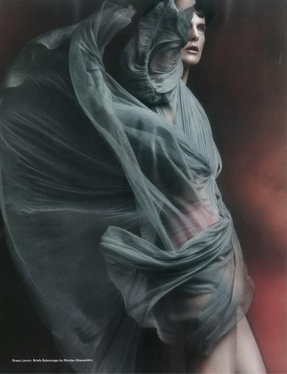 Съёмка: Стелла Теннант для i-D. Изображение № 8.