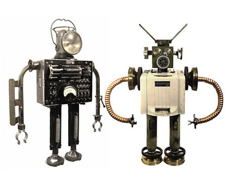 Роботы-скульптуры Gordon Bennett. Изображение № 8.