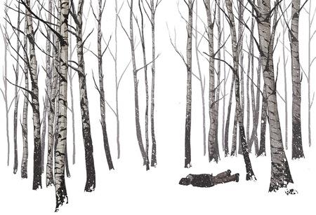Чернильно-кофейные призраки Мэтью Вудсона. Изображение № 22.