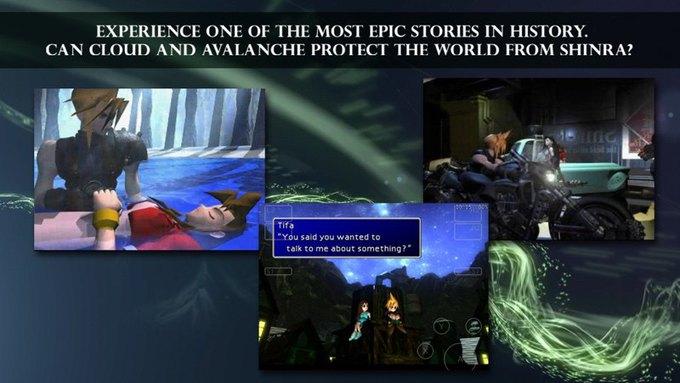 Final Fantasy VII вышла на iOS . Изображение № 1.