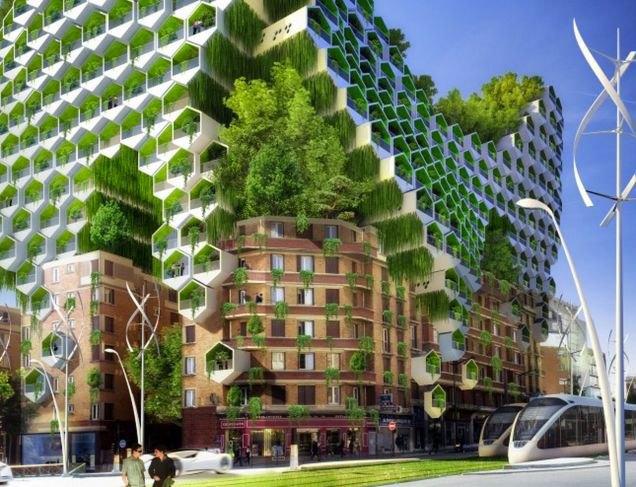 Концепт: экологически безопасный Париж. Изображение № 4.