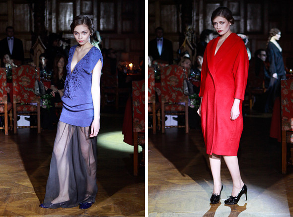 Изображение 11. Vardoui Nazarian FW 2011: прозрачные юбки и пушистые майки.. Изображение № 11.