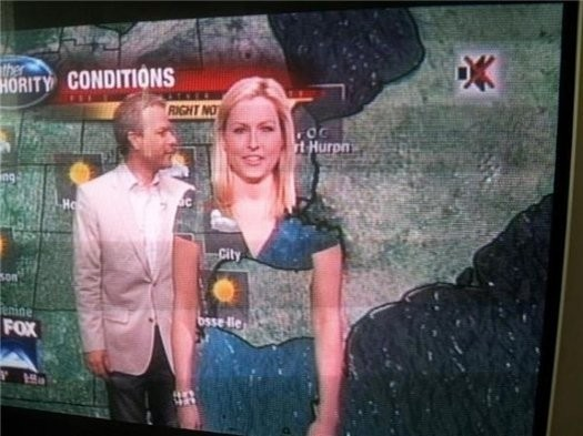 Почему метеорологам нельзя носить зеленую одежду?. Изображение № 4.