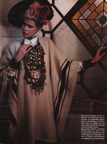 Vogue Germany, март 2010, фотограф Карл Лагерфельд . Изображение № 63.