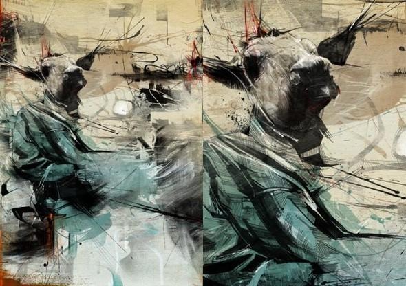 Russ Mills : графика, фотография и живопись. Изображение № 42.