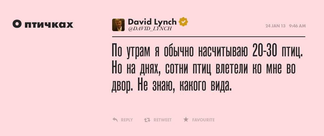 Дэвид Линч, режиссер  и святая душа. Изображение № 1.