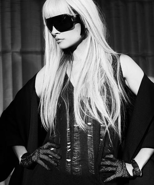 Панк-гламур отНиколь Риччи: Подражая Lady GaGa. Изображение № 5.