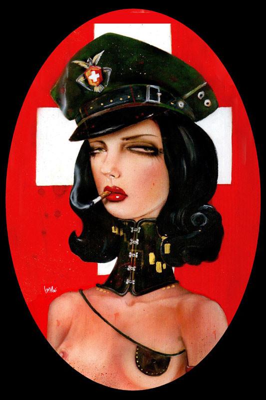 Brian M. Viveros - Американский художник. Изображение № 17.