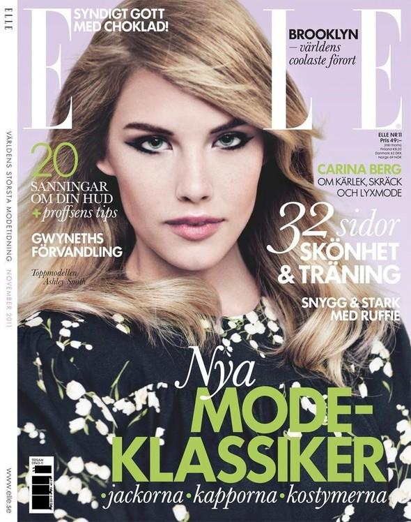 Обложки: Elle, Jalouse, Wonderland и W. Изображение № 1.