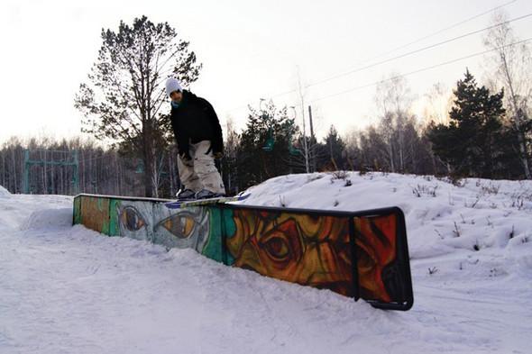 Academ Snowboard Park, Иркутск. Изображение № 11.