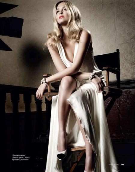 Изображение 2. Bar Refaeli в Dolce&Gabbana для ELLE Россия Март 2011.. Изображение № 2.