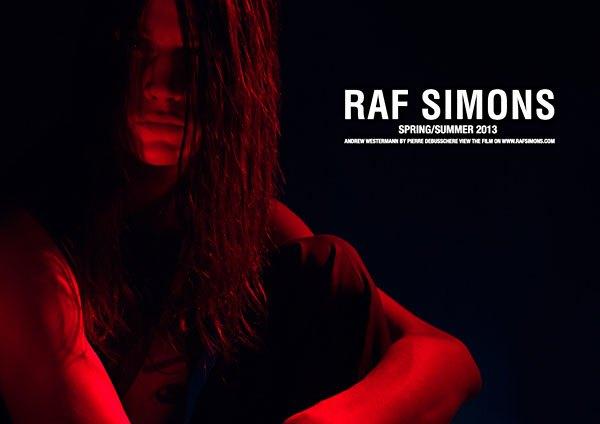 Показана новая кампания Raf Simons. Изображение № 3.