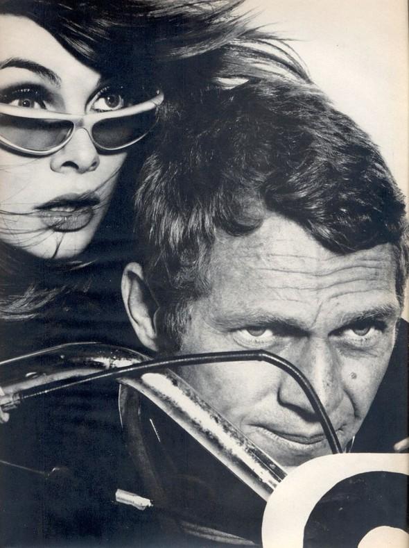 Архивная съёмка: Джин Шримптон и Стив Маккуин для Harper's Bazaar. Изображение № 7.