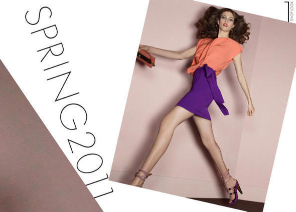 Изображение 14. Рекламные кампании: Diane von Furstenberg, Karl Lagerfeld, McQ и другие.. Изображение № 1.