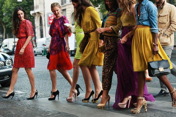 Уличный стиль на Неделе высокой моды в Париже. Изображение № 115.