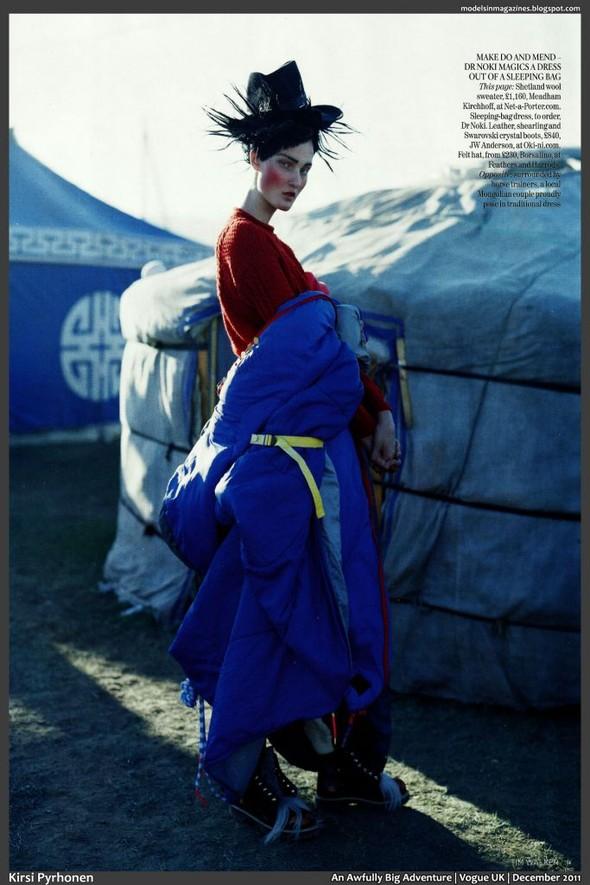 Съёмка: Тим Уокер для британского Vogue. Изображение № 9.