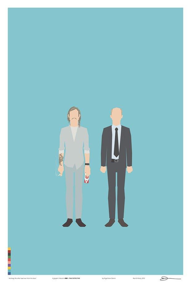 Инфографика собрала всех героев «Настоящего детектива». Изображение № 4.