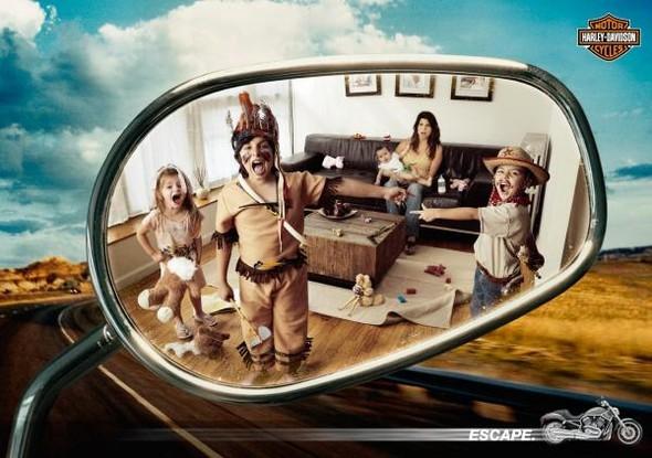 Harley Davidson: реклама легенды. Изображение № 32.