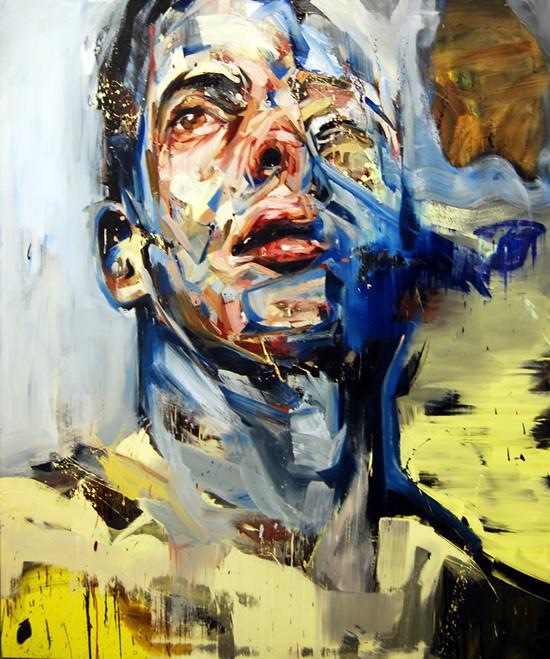 Абстрактные мужские портреты Эндрю Сальгадо. Изображение № 7.
