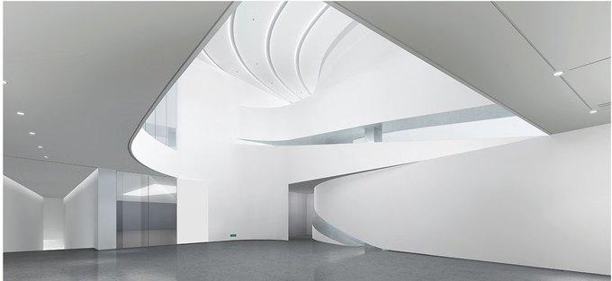 Архитектура дня: музей в Китае сбелым «слоёным» фасадом. Изображение № 22.