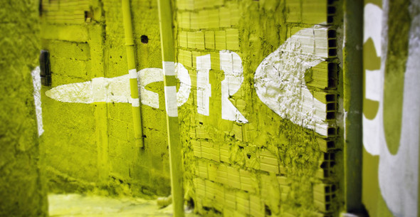 'Свет в переулках' граффити в фавелах. Изображение № 8.
