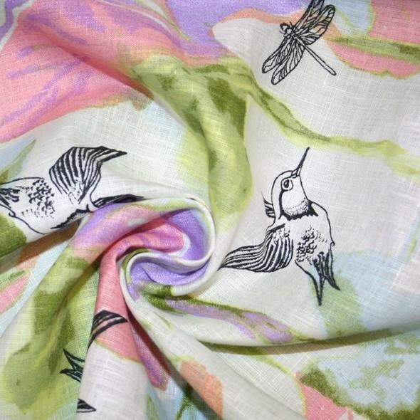 Линум: дизайн  тканей (советы, тренды, рекомендации). Изображение № 3.