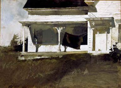 Andrew Wyeth- живопись длясозерцания иразмышления. Изображение № 34.
