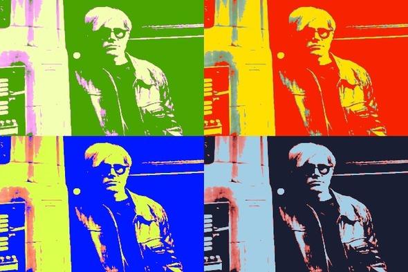 10 портретов Уорхола на веб-камеру . Изображение № 3.