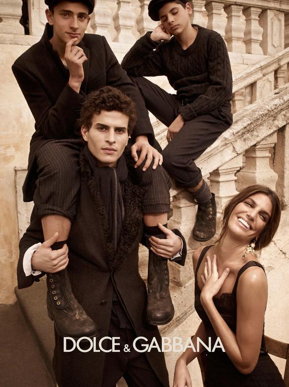 Кампании: Balenciaga, Celine, Dolce & Gabbana и другие. Изображение № 18.