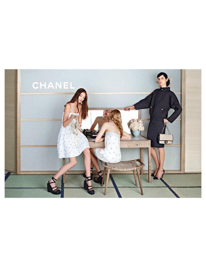 Chanel сняли несовершеннолетних моделей для новой кампании. Изображение № 5.