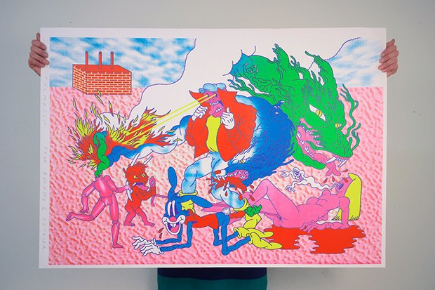 50 постеров, которые вдохновляют заняться шелкографией. Изображение № 12.