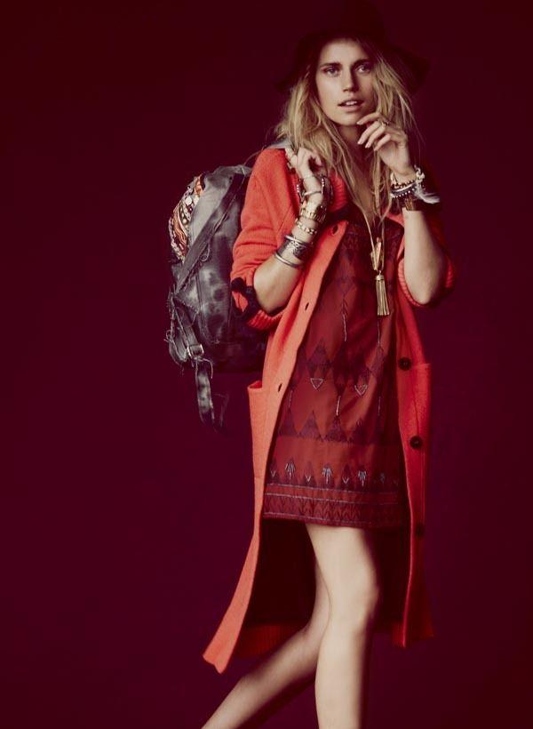 Вышли новые лукбуки Zara, Free People, Mango и других марок. Изображение № 7.