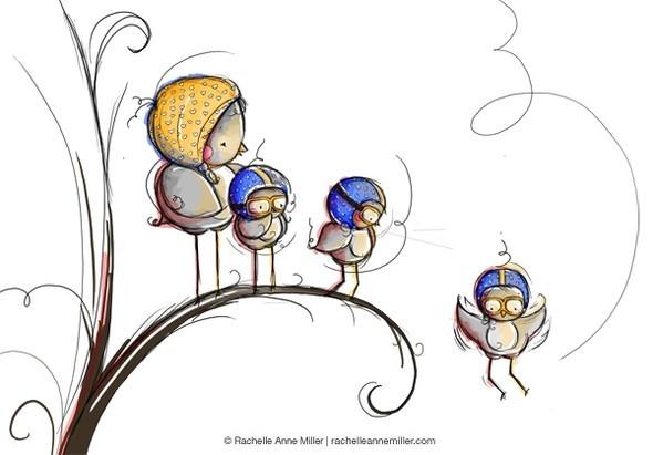 Иллюстратор Rachelle Anne Miller. Изображение № 33.