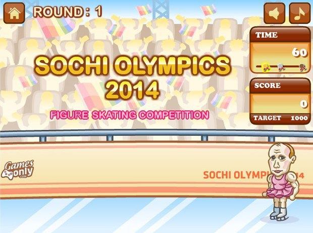Путин стал фигуристом в новой игре про Олимпиаду. Изображение № 1.