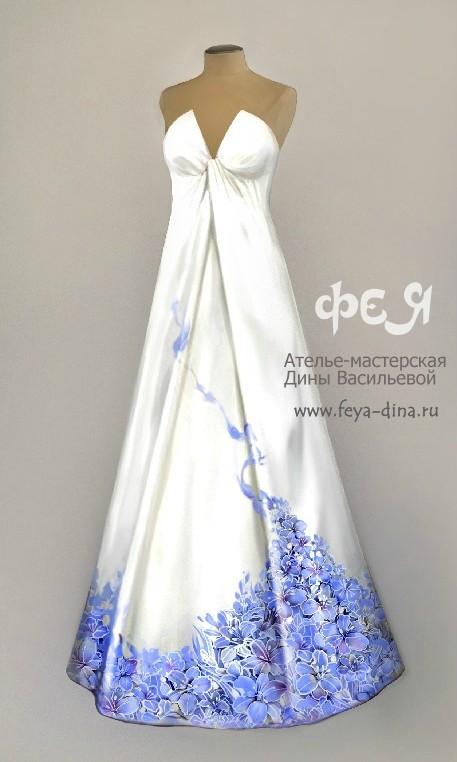 коллекция свадебных платьев от ателье - мастерской Дины Васильевой. Изображение № 1.