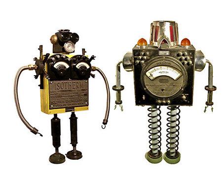 Роботы-скульптуры Gordon Bennett. Изображение № 10.